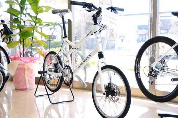 小径タイヤのスポーツモデル